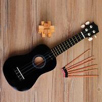 21'' Ukulele Uke Wood Musical Instrument Soprano Hawaiian Guitar Gift Beginners