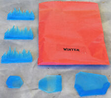 "Barzso/TSSD Road to Stalingrad ""Winter"" - 6 clear ice blue pieces - mint in bag"