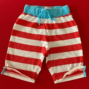 """Mini Boden Awesome Girls-Boys Striped """"JERSEY SHORTS""""  3-4 Years. Soft - Comfy!"""