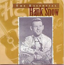 HANK SNOW ESSENTIAL CD NEW