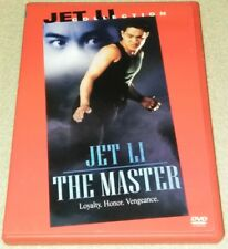 The Master DVD Jet Li  *RARE oop