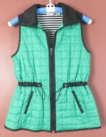 CJ0965- ZENERGY By CHICO'S Women's Polyester Puffy Vest Adjustable Waist 0 S XS