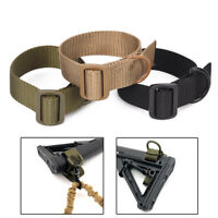 Heavy Duty Tactical ButtStock Sling Adapter For Shotgun Rifle Attachment Mount F