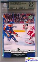 2015/2016 UD Connor McDavid Collection #18 ROOKIE BGS 9.5 GEM MINT Oilers !!