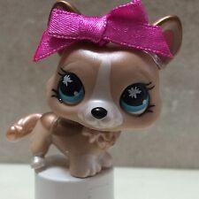 Littlest Pet Shop LPS #871 Rare Brown Tan Shimmer Corgi Dog SHIPS FREE 9 picture