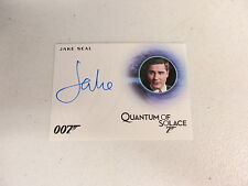2016 James Bond Classics Jake Seal as Bartender Autograph Card A276