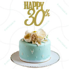 joyeux 30ème gâteau toppers fête fournitures anniversaire décoration de fêtBB