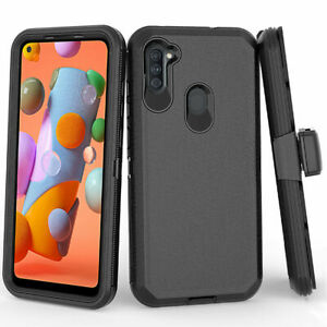 For Samsung Galaxy A50/A11 Case Shockproof Armor Cover / Glass Screen Protector