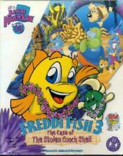 Freddi Fish 3 & The Case Of The Stolen Conch Shell Pc Mac Cd find clues kid game