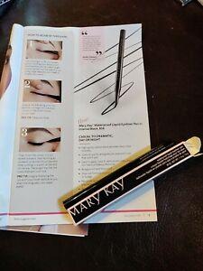 Mary Kay Waterproof Liquid Eyeliner Pen In Intense Black