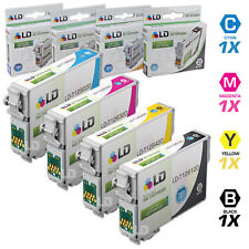 LD © Epson Remanufactured T126 Set of 4 HY Ink 1x T1261 T1262 T1263 T1264