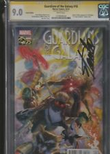 GUARDIANS OF THE GALAXY #18 CGC 9.0 SIGNED BY STAN LEE