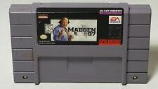 Madden NFL 97 (Super Nintendo Entertainment System, 1996) Cart Only