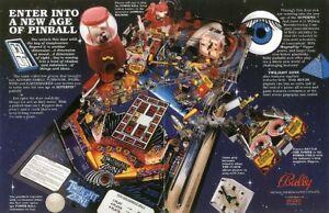 Twilight Zone Pinball - Rom Upgrade Set [Bally/Williams] EPROM Chip