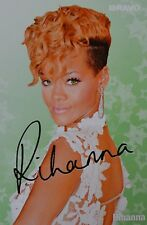 Rihanna-AUTOGRAPHE CARTE-signed autograph autographe fan collection captures