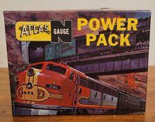 Vintage Atlas N Gauge Model 2860 Power Pack w/ Original Box