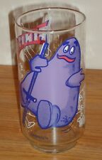 "Vintage 5.5"" McDonald's GRIMACE on POGO Stick promotional Drinking GLASS 1977"