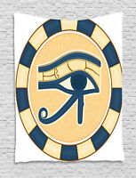 Eye Tapestry Egyptian Ancient Amulet Print Wall Hanging Decor