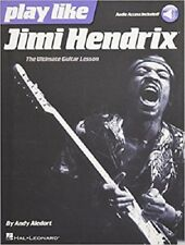Play Like Jimi Hendrix The Ultimate Guitar Lesson Book with Online Audio Tracks