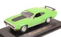 Plymouth Gtx 1971 Green 1:43 Model LUCKY DIE CAST