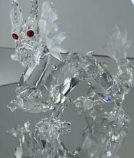 Swarovski 1997 Annual Edition Fabulous Creatures - The Dragon Crystal Statue