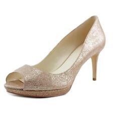 Zapatos de tacón de mujer Nine West de tacón medio (2,5-7,5 cm) de color principal beige