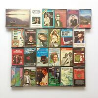 Vintage Music Cassette Bundle Various Genres Tapes x25 Pop Classical Christmas