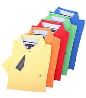 Tommy Hilfiger Men's Short Sleeve Logo Pique Polo Shirt - $0 Free Ship