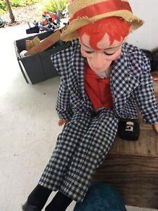 1968 MORTIMER SNERD Clean Ventriloquist Doll Juro Novelty Co. Edgar Bergen