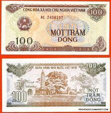VIETNAM billet neuf de 100 DONG Pick105   TEMPLE PAGODE   1992