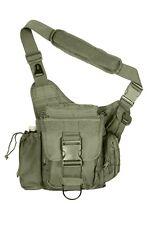US ADVANCED Army Outdoor TACTICAL Combat SHOULDER HIP BAG Schulter tasche Oliv