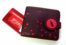 COCA COLA BUBBLES BROWN RED LEATHER BI-FOLD WALLET NEW OFFICIAL COKE SODA POP