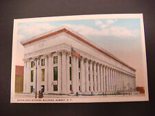 Post Card, State Education Building, Albany New York,NY, W.R. Perrin, Unused