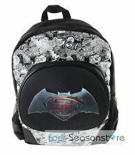 "DC Comics Batman vs Superman 16"" Back to School Backpack Bag for Children"