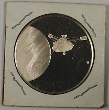 Postmasters of America Commemorative Issue Silver Medal Satellite on Obverse