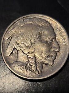 1913 P Type 1 Buffalo Nickel