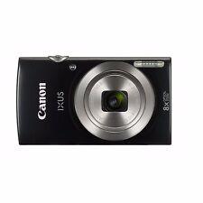 Canon IXUS 185 20MP 8x Zoom Compact Digital Camera - Black