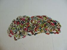 Vintage Christmas Decoration Multicolored Glass Bead Garland