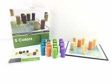 5 COLORS BOARD GAME by CAYRO 100% COMPLETE WITH INSTRUCTIONS VGC FREE UK POST