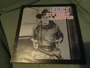 LP - FAMILY - IT'S ONLY A MOVIE - CHAPMAN / RAFT / ROCK