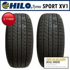 2x 225/65 R17 102H HILO Sport XV1 SUV Tyres. 'B' Rated wet grip.