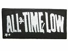 "All Time Low Embroidered Iron On Patch Badge 4""x2"""