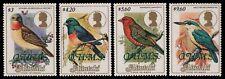 Aitutaki 1986 - Mi-Nr. Dienst 34-37 ** - MNH - Vögel / Birds