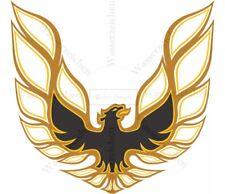 10cm! Auto-Aufkleber UV&WASCHANLAGENFEST kratzfest Pontiac-firebird-Logo AB059
