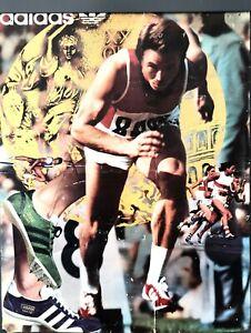 Rare Adida Tokyo Olympic Poster 1964