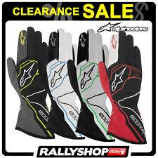 FIA Alpinestars Gloves Tech 1-z 1z Rally Racing Race 2016 Sport Clearance L Black/red/white
