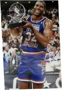 Magic Johnson Hand Signed Autographed 20X30 Photo Lakers 1992 All Star MVP JSA