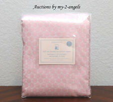 1 Pottery Barn Kids MINI DOT LUXE JACQUARD Blackout Panel 44X84 LIGHT PINK *NEW