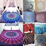 Hippie Indisch Mandala Tapisserie Wandteppich Wandbehang Yoga Blumen Strandmatte