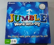 Official JUMBLE Word Spin-Off Game - Imagination 2007